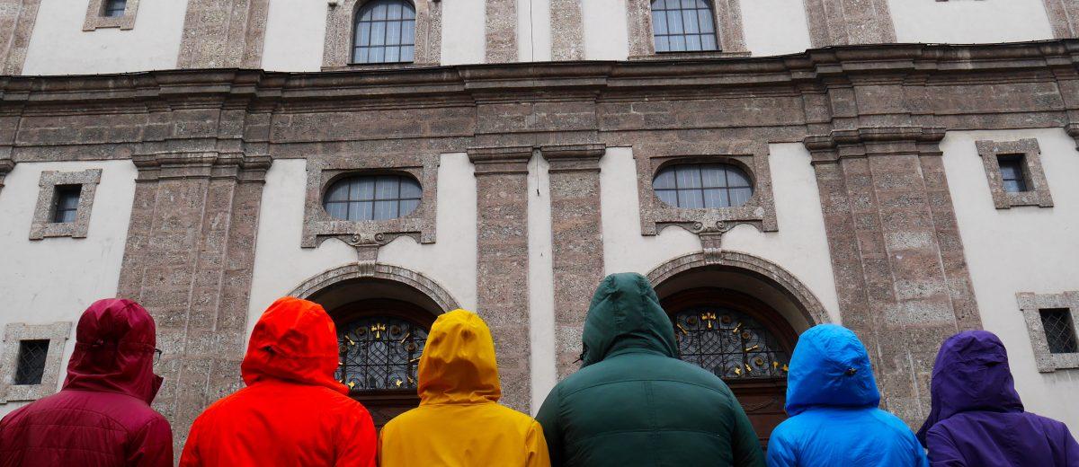 Regenbogen Karl Rahner Platz